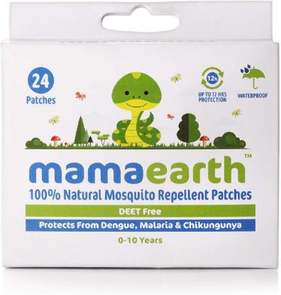 Picture of Mamaearth Anti Mosquito Patch Printed - Pack of 24
