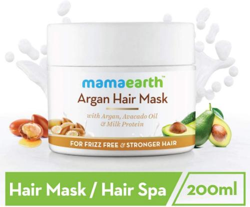Picture of Mamaearth Argan Hairfall Control Mask, 200ml