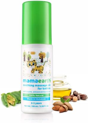 Picture of Mamaearth Soothing Massage Oil for babies (100ml, 0-5 Yrs)