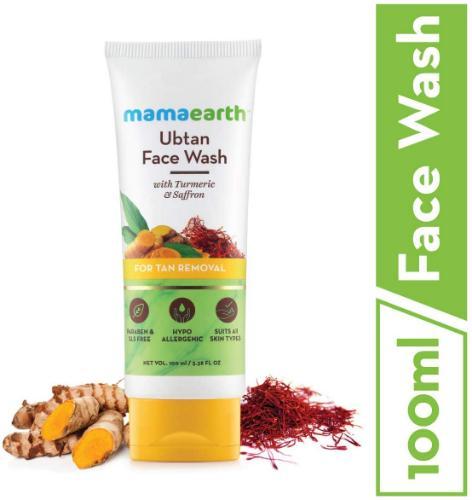 Picture of Mamaearth Ubtan Facewash for tan removal, 100ml