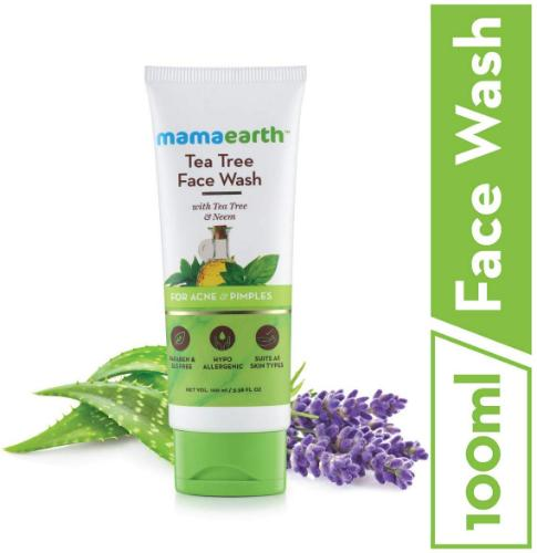 Picture of Mamaearth Tea Tree Facewash, 100ml