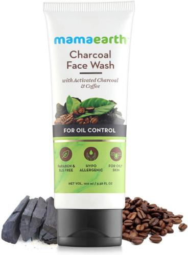 Picture of Mamaearth Charcoal Facewash for oil control, 100ml