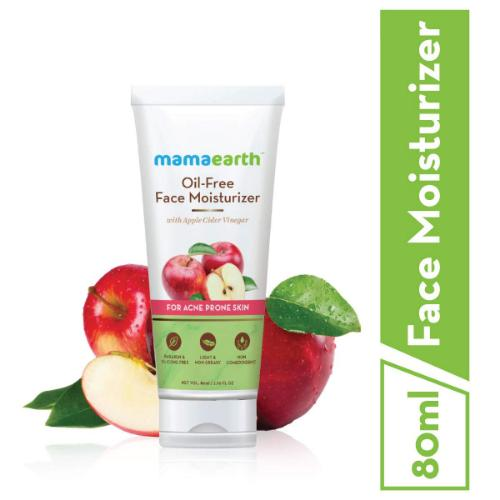 Picture of Mamaearth Oil-Free Face Moisturizer for Acne-Prone Skin, 80ml