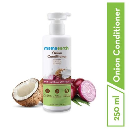 Picture of Mamaearth Onion Conditioner for Hair Growth & Hair Fall Control with Onion & Coconut, 250ml