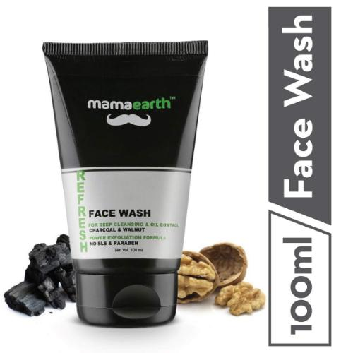 Picture of Mamaearth Refresh Oil Control Facewash for Men 100ml