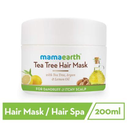 Picture of Mamaearth Tea Tree Anti Dandruff Hair Mask, 200ml