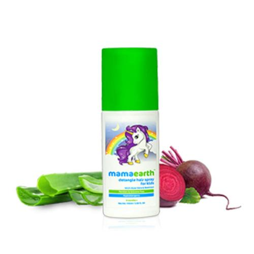 Picture of Mamaearth Detangle Hair Spray For Kids with Aloe Vera & Beetroot Extract 100ml