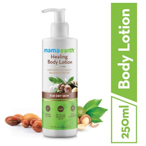 Picture of Mamaearth Healing Natural Body Lotion for dry skin, 250ml