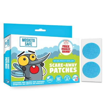 Picture of Pee Safe Moskito Safe Scare Away Natural Mosquito Repellent Patches - Pack of 30