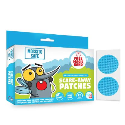 Picture of Pee Safe Moskito Safe Scare Away Natural Mosquito Repellent Patches - Pack of 12