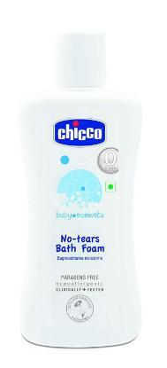 Picture of Chicco Bath Foam 100ml (Baby Moments - India)