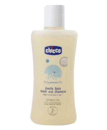 Picture of Chicco Body Wash & Shampoo 100 ML (Baby Moments - India)