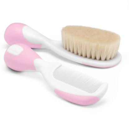 Picture of Chicco Brush & Comb Pink