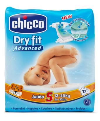 Picture of Chicco Diaper Dry Fit Adv Chicco Junior