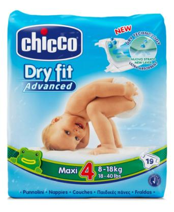 Picture of Chicco Diaper Dry Fit Adv Chicco Maxi