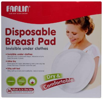 Picture of BREAST PAD DISPOSABLE 36PCS
