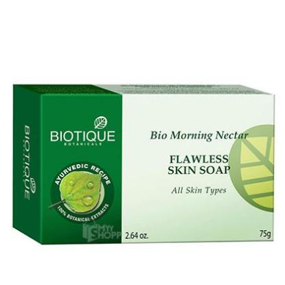 Picture of Biotique Bio Morning Nectar Flawless Skin Soap 75gm