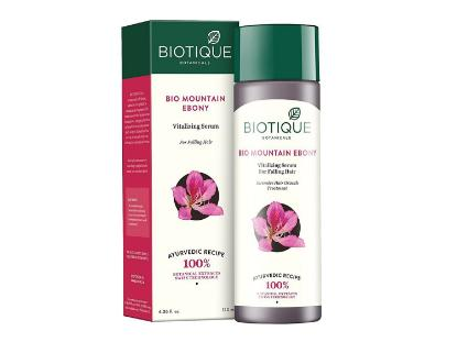 Picture of Biotique Bio Mountain Ebony Fresh Growth stimulating Serum 120 ML