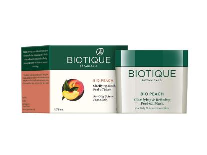 Picture of Biotique Bio Peach clarifying & Refining Peel-off mask 50 GM