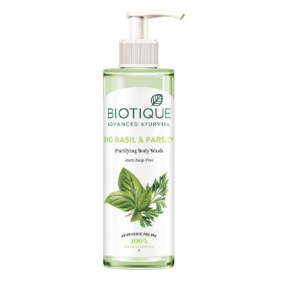 Picture of Biotique Bio Basil and Parsley Body wash 200ml