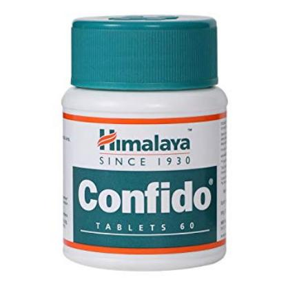 Picture of Himalaya Confido Tablets 60 'Bottle