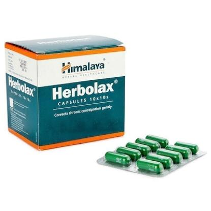Picture of Himalaya Herbolax Capsule 10'S