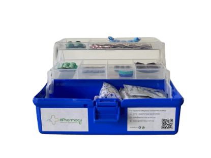 Picture of First Aid Box With Medicine #PKG2