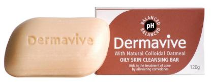 Picture of Dermavive Oily Skin Cleansing Bar 120gm