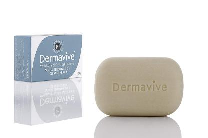 Picture of Dermavive Acne & Sensitive Skin Cleansing Bar 120gm