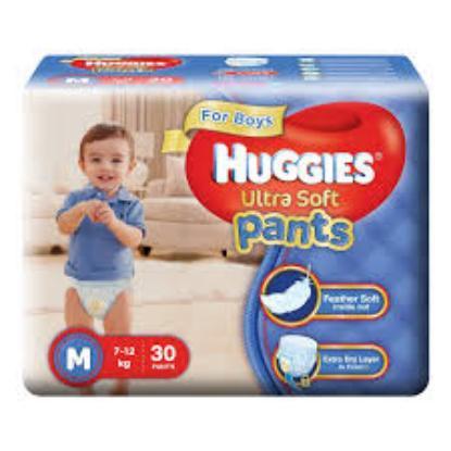 Picture of Huggies Wonder Pants Ultra Soft M(Boys) 30