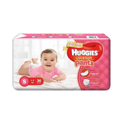 Picture of Huggies Wonder Pants Ultra Soft S(Girls) 36