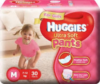Picture of Huggies Wonder Pants Ultra Soft M(Girls) 30