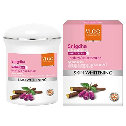 Picture of VLCC Singdha Skin Whitening Night Cream 50 gm