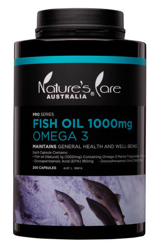 Picture of FISH OIL 1000mg OMEGA 3