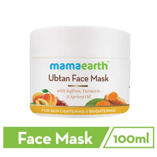 Picture of Mamaearth Ubtan Face Mask for Skin Lightening & Brightening, 100ml