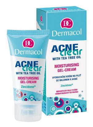 Picture of Dermacol Acne Clear With Tea Tree Oil Moisturizing Gel Cream
