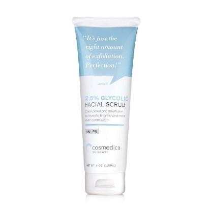 Picture of Cosmedica 2.5% Glycolic Facial Scrub 120ml