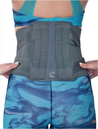 Picture of Lumbar Back Support Cross Strap