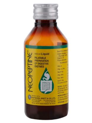 Picture of Neopeptine Syrup 100ML 'Bottle