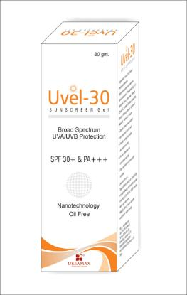 Picture of Uvel-30 Sunscreen Gel