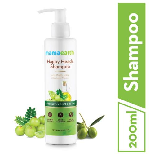 Picture of Mamaearth Happy Heads Natural Protein Hair Shampoo 200ml