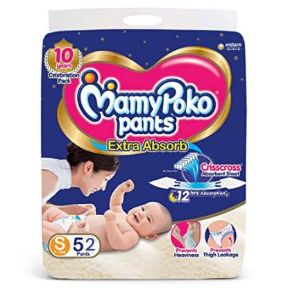 Picture of Mamy Poko Pants S 52 Pack
