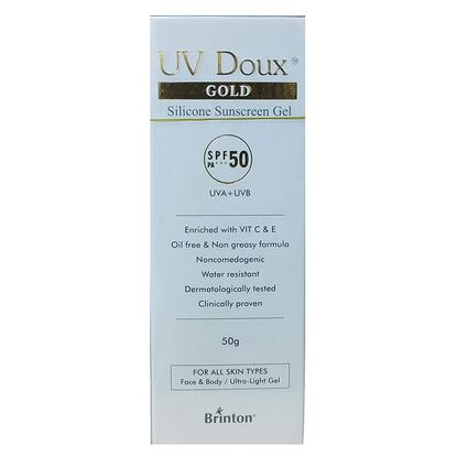 Picture of UV Doux Gold SPF 50 - 50gm 'Tube