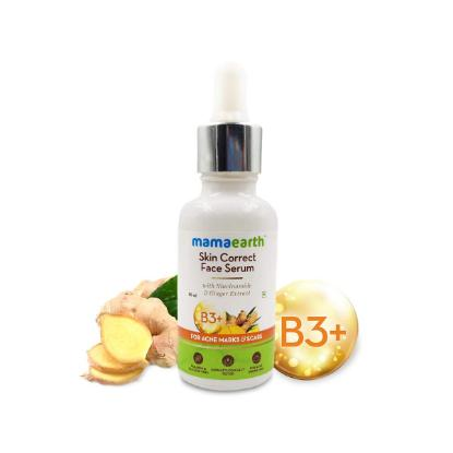 Picture of Mamaearth Skin Correct Face Serum with Niacinamide and Ginger Extract for Acne Marks & Scars - 30ml