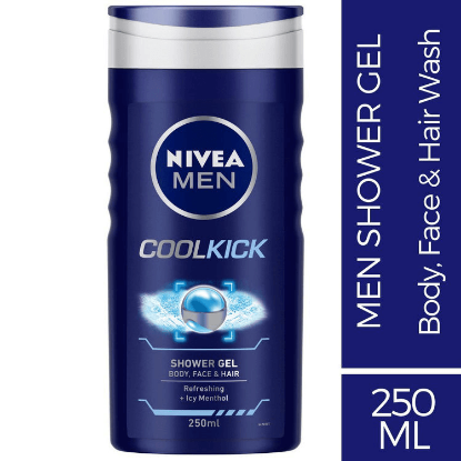 Picture of Nivea Men Shower Gel Cool Kick 250ml