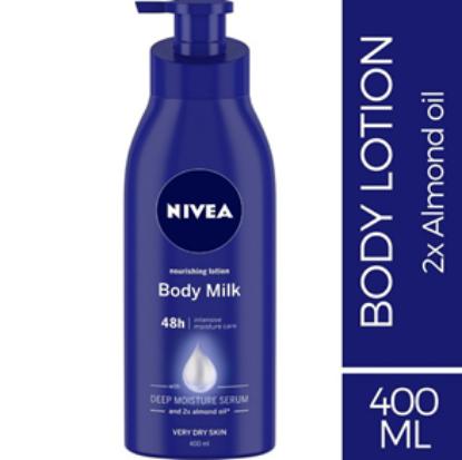 Picture of Nivea Milk Lotion 400ml Pump