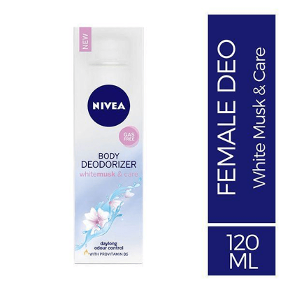 Picture of Nivea Deo Body White Musk & Care 120ml (36)