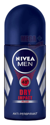Picture of Nivea Deo Roll On Dry Male 50ml