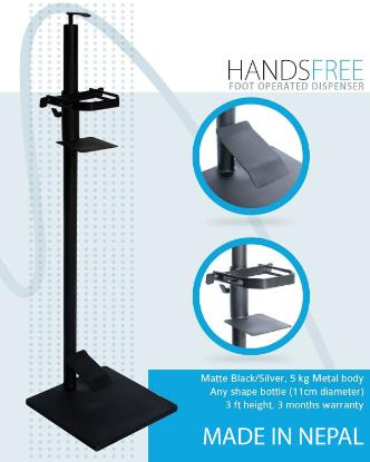 Picture of HANDSFREE-Foot Operated Dispenser