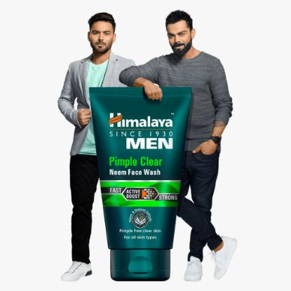 Picture of Himalaya Men Pimple Clear Neem Face Wash